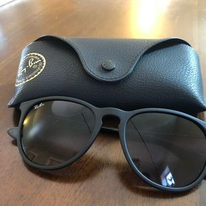 Ray-bans Erika black sunglasses